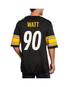 T.J. Watt #90 Men's Nike Replica Home Jersey