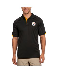 Pittsburgh Steelers Majestic Club Seat Polo
