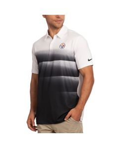 Pittsburgh Steelers Nike Golf White Polo