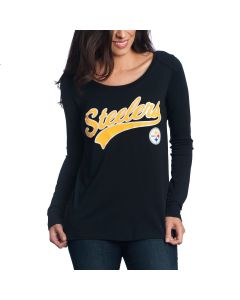 Pittsburgh Steelers Touch Women's Redzone Long Sleeve Top