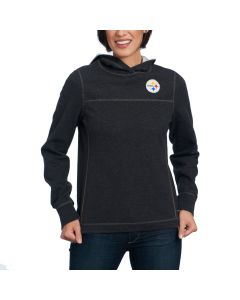 Pittsburgh Steelers Tommy Bahama Women's NFL Tailgate Flip Side Hoodie