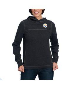 Pittsburgh Steelers Tommy Bahama Women's NFL Tailgate Flip Side Hoodie