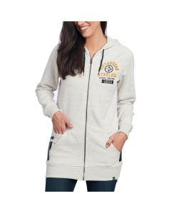 Pittsburgh Steelers '47 Women's Encore Longline Fleece Hoodie