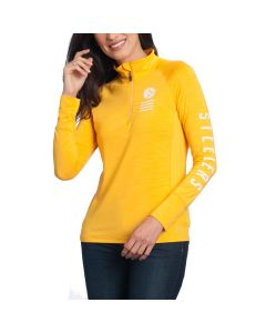 Pittsburgh Steelers '47 Women's Forward Microlite Shade 1/4 Zip Top