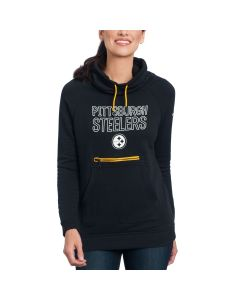 Pittsburgh Steelers Nike Women's Modern Funnel Fleece Hoodie