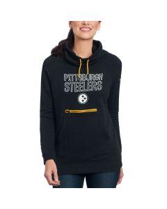 Pittsburgh Steelers Nike Women's Modern Funnel Fleece Hoodie