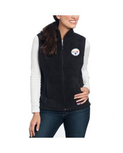 Pittsburgh Steelers Women's Vineyard Vines Black Westerly Vest