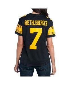 Ben Roethlisberger #7 Women's Nike Limited Color Rush Jersey
