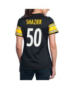 Ryan Shazier #50 Women's Nike Replica Home Jersey