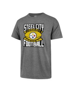 Pittsburgh Steelers '47 Steel City Football Club Short Sleeve T-Shirt