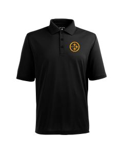 Pittsburgh Steelers Men's Antigua Pique Xtra Lite Polo