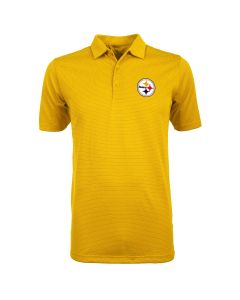Pittsburgh Steelers Men's Antigua Quest Polo