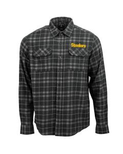 Pittsburgh Steelers Men's Long Sleeve Stance Woven Shirt