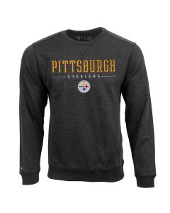 Pittsburgh Steelers Men's Antigua Defender Pullover Crewneck