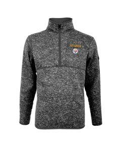 Pittsburgh Steelers Men's Antigua Fortune 1/2 Zip Sweater
