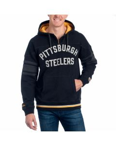 Pittsburgh Steelers Mitchell & Ness 1st Quarter Pullover Hoodie