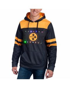 Pittsburgh Steelers Light Up Colorblock Hoodie