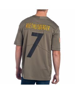 Ben Roethlisberger #7 Men's Nike Limited Salute to Service Jersey