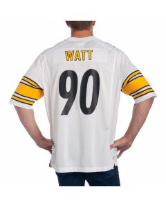 T.J. Watt #90 Men's Nike Replica Away Jersey