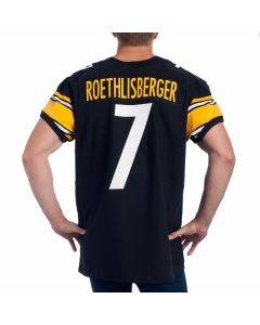 Ben Roethlisberger #7 Men's Nike Elite Home Jersey