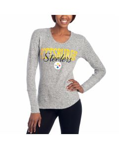 Pittsburgh Steelers Women's Reprise Sleepwear Long Sleeve Shirt