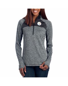 Pittsburgh Steelers Women's Static Quarter Zip