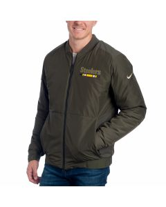Pittsburgh Steelers Nike Salute to Service Bomber Jacket