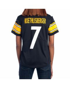 Ben Roethlisberger #7 Women's Nike Limited Home Jersey