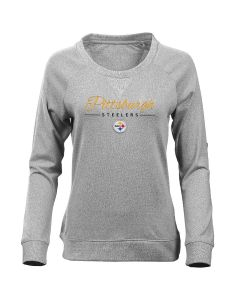 Pittsburgh Steelers Women's Long Sleeve Poise T-Shirt