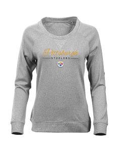 Pittsburgh Steelers Women's Long Sleeve Poise T-Shirt