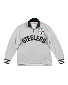 Pittsburgh Steelers Men's Mitchell & Ness Sealed the Victory 1/4 Zip