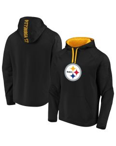 Pittsburgh Steelers Men's Big & Tall Defender Fleece Hoodie