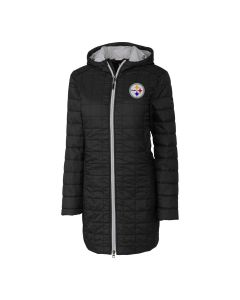 Pittsburgh Steelers Women's Rainier Heavyweight Long Jacket