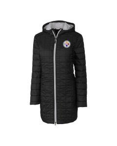 Pittsburgh Steelers Women's Rainier Heavyweight Long Jacket