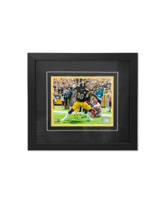 Pittsburgh Steelers #30 James Conner Celebration Signed Framed 8x10 Photo