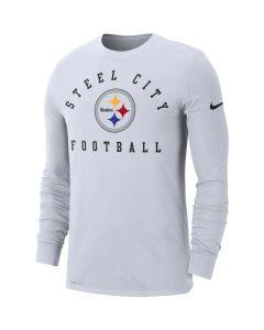 Pittsburgh Steelers Men's Nike Long Sleeve Local Sideline T-Shirt