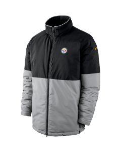 Pittsburgh Steelers Nike Shield Heavyweight Black Jacket