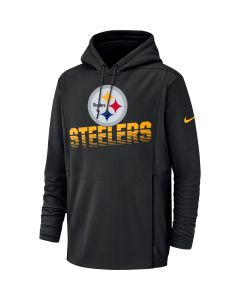 Pittsburgh Steelers Nike Heavyweight Black Therma Hoodie