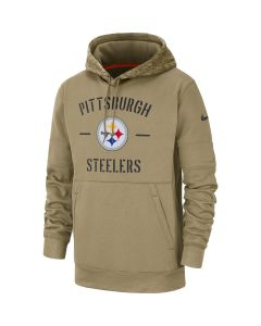 Pittsburgh Steelers Men's Nike Therma Salute to Service Hoodie