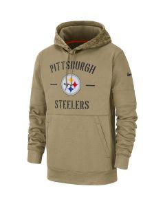 Pittsburgh Steelers Men's Nike Therma Salute to Service Hoodie