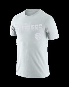 Pittsburgh Steelers Men's Nike Short Sleeve 100 Year White T-Shirt