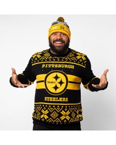 Pittsburgh Steelers Light Up Ugly Sweater