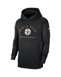 Pittsburgh Steelers Men's Nike Local Therma Black Hoodie