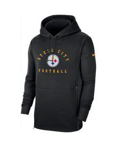 Pittsburgh Steelers Men's Nike Local Therma Black Hoodie