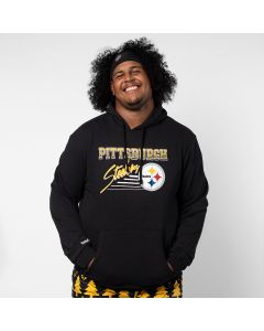 Pittsburgh Steelers Throwback Pullover Fleece Hoodie