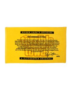 Pittsburgh Steelers Myron Cope Message Terrible Towel