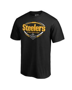 Pittsburgh Steelers Men's 2019 Training Camp Stencil Short Sleeve T-Shirt