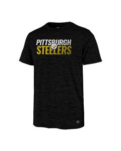 Pittsburgh Steelers Men's '47 Turbo Impact Performance Short Sleeve T-Shirt