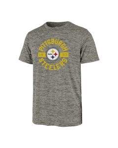 Pittsburgh Steelers Men's '47 Topmark Impact Performance Short Sleeve T-Shirt