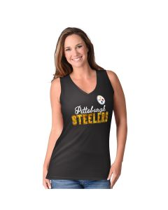 Pittsburgh Steelers Women's 4th Quarter V-Neck Tank